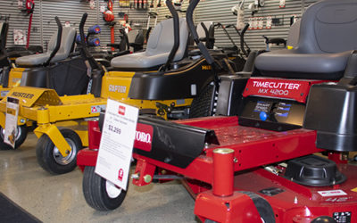 2018 Showroom Preview – Heavy Residential Zero Turn Riding Mowers