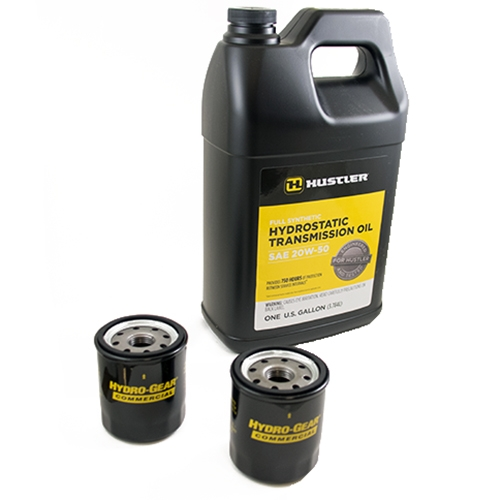 Hustler Hydraulic Fluid Change Kit - (606953 with Set of 2 Filters 600976)