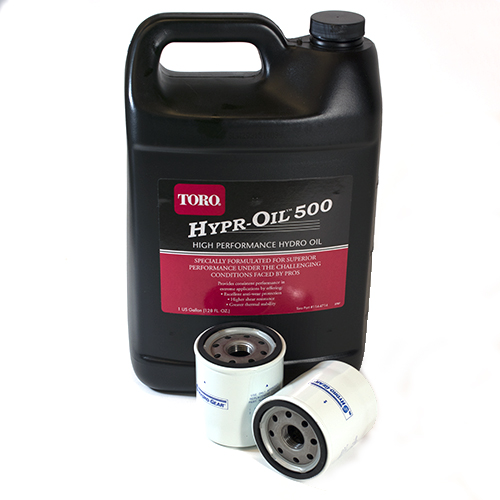 Toro Hypr-Oil Change Kit (109-3321 filter with 114-4714)
